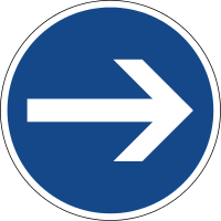 Here you must turn right