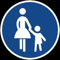 Pedestrian path
