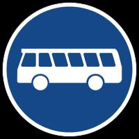 Special bus lanes