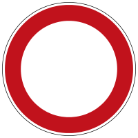 Traffic restrictions