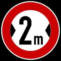 Actual width