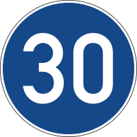 Required minimum speed