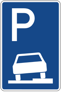 Parking on pavements