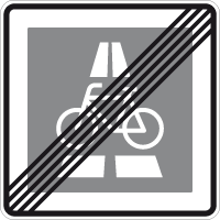 End of the bicycle expressway