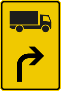 Diversions for specific types of vehicles