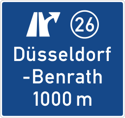 Initial approach signs