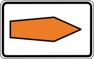 Diversion arrow